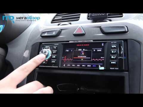 Автомагнитола cd dvd pioneer avh-190 2din 4x50вт