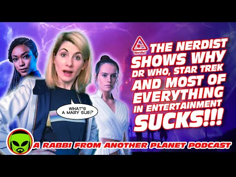 The Nerdist Shows Why Doctor Who, Star Trek And Most of EVERYTHING SUCKS in Entertainment!!!