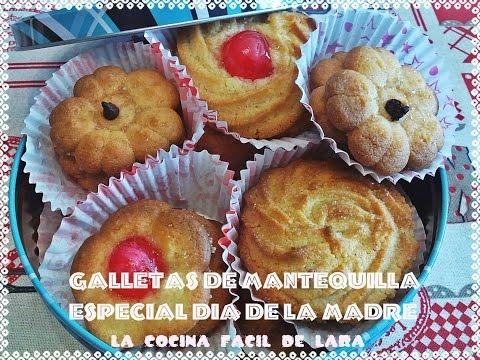 Imagen de: Galletas de mantequilla especial día de la m…