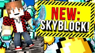 NEW SKYBLOCK ISLANDS   Minecraft Skybounds #1