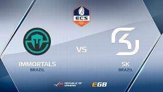 SK vs Immortals, map 2 train, ECS Season 2 Finals