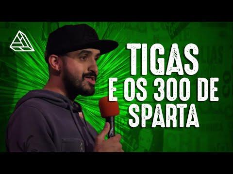 THIAGO VENTURA - TIGAS E OS 300 DE  ESPARTA l Legendado