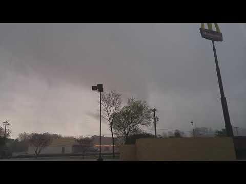 Tornado in Greensboro North Carolina 4-15-18