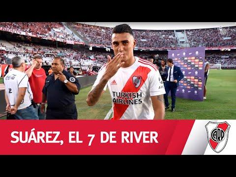 En el 7/7, lo mejor del nuestro: Matías Suárez