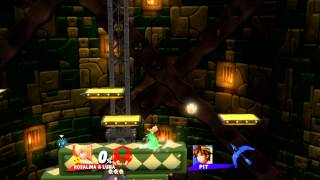 All 1v1 matches Super Smash Bros. for Wii U/3DS at SDCC