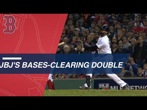 Video: Jackie Bradley Jr.'s bases-clearing double in the 3rd