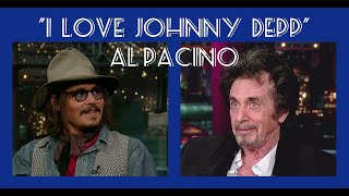Video Al Pacino loves Johnny Depp MP3, 3GP, MP4, WEBM, AVI, FLV Juni 2019