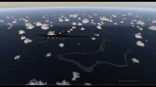 Military Air Traffic on atoll of Diego García (FJDG) (U.S. Navy Support Facility) (British Indian Ocean Territory) (BIOT). Thanks to all aircraft manufacturers... are a ...