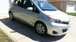 2014 Toyota Yaris LE Review
