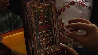 """وفد من عائلة الكرمي وشخصيات طولكرم يقدم المباركة بالمولود """"رائد الكرمي"""" في نابلس"""