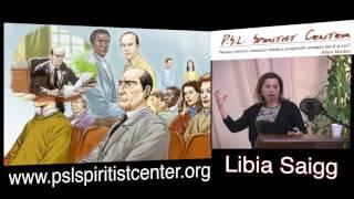 Palestra Espírita - Nos Bastidores de uma Reunião Pública - Libia Saigg