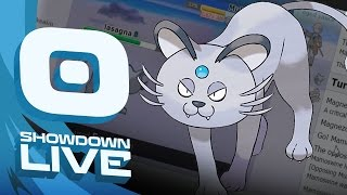 Pokemon Sun and Moon! Showdown Live: Enter Alolan Persian - Alolan Persian Showcase! by PokeaimMD