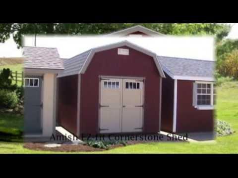 Amish Built EZ-fit Cornerstone Shed Kit