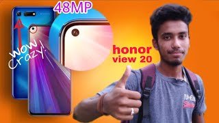 Honor view 20 With 'Hole-Punch' & 48MP camera & kirin 980 processor, Oneplus 6T killer🔥🔥