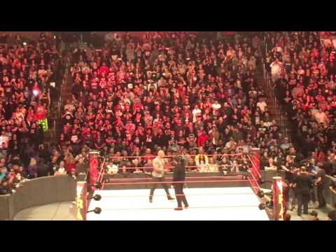 The Rock Calls CM Punk After Raw Goes Off The Air Live! 2/20/17 (part 1)