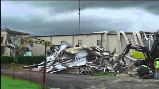 Demolition begins at FBC-Collinsville