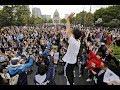 【動画】安倍政権退陣求め国会前で大規模集会 パヨク大集合