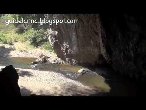 ถ้ำผีแมน ถ้ำลอด อำเภอปางมะผ้า จังหวัดแม่ฮ่องสอน Cave Thum Lod Pang Mapha Mae Hong Son (видео)
