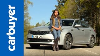Kia Optima saloon review - Carbuyer by Carbuyer
