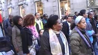 Demonistration Of Ethiopians In Norway