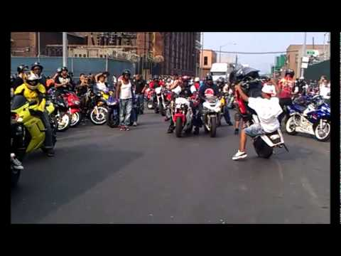 609 Wheelie Boyz at Hollywood Block Party 2011