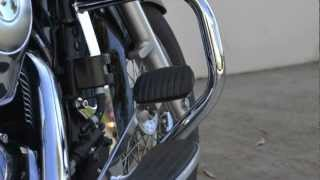 7. Baron Custom Accessories Kawasaki VN900 Engine Guard Installation