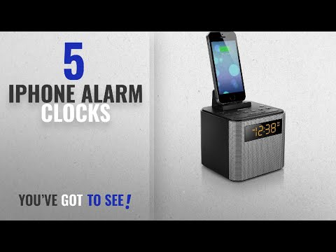 Top 10 Iphone Alarm Clocks [2018 ]: Philips AJT3300/37 Bluetooth Dual Alarm Clock Radio