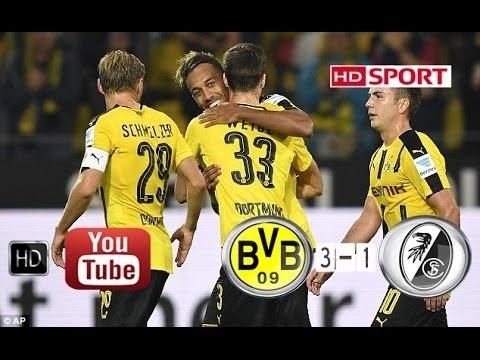 Borussia Dortmund vs Freiburg 3 1 All Goals HD   Bundesliga 23 9 2016