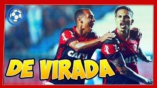 Flamengo vence o Cruzeiro de virada. Veja no DUELO DE NARRADORES: Luiz Penido, da Rádio Globo/CBN vs José Carlos Araújo, o Garotinho, da Super Rádio Tupi. Ap...