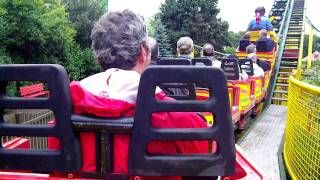 Minden Germany  city photos : Achterbahn Potts Blitz at Potts Park in Minden Germany - On Ride POV