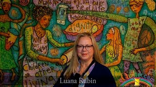 Luana Rubin presents the Quilt National Exhibit at the 2016 IQA
