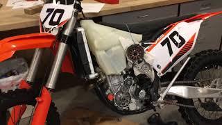 5. Adding Flywheel Weight To A KTM 250