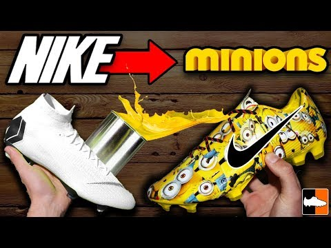 How To Hydro Dip! Ultimate Custom Football Boots