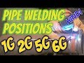 [Hindi] Pipe Welding Positions 1G, 2G, 5G & 6G