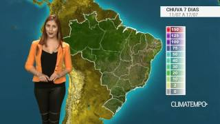 A chuva favoreceu a lavoura no estado de Mato Grosso e a expectativa é boa para os agricultores. Confira como fica o acumulado de chuva para todo o Brasil no...