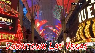 Downtown Las Vegas is the Fremont Street Experience, home to the world's largest LED screen and some very special events. Fremont Street is a street in Las V...