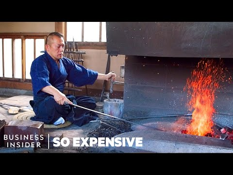 Why Japanese Swords Are So Expensive | So Expensive