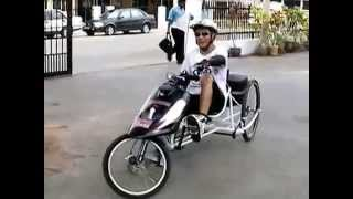 Jitra Malaysia  City pictures : Timmy Green my homebuilt Delta Recumbent Trike from Jitra, Malaysia