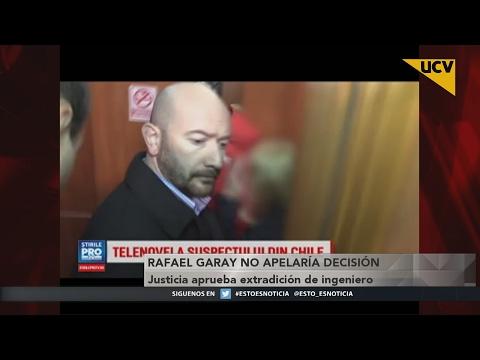 video Rumania aprueba extradición de Rafael Garay y llegaría en marzo a Chile