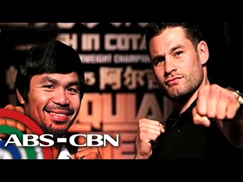 Beat - Chris Algieri is practicing hard in preparation for his fight with Manny Pacquiao on November. Determination and confidence is his armor to success. Subscribe to the ABS-CBN News channel!...