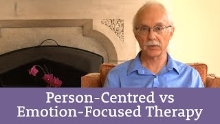 Process differentiation: Person-Centred Counselling and Emotion-Focused Therapy