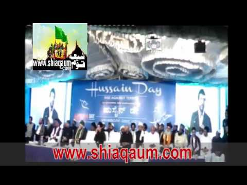 Husain Day Banglore 2015 (Javed Jafri)