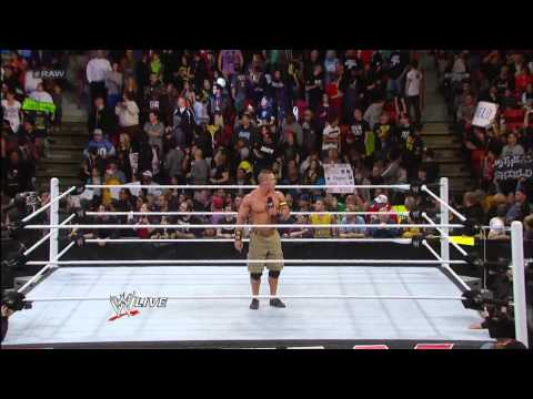The Shield Set Their Sights On John Cena: Raw, Jan. 28, 2013