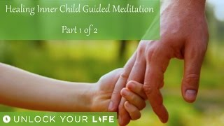 "This is part 1 of a journey to meet and heal your child self.  In part 1 you meet your child self for the first time and receive a special message from your child self, something that your adult self needs to know now, something you may not be aware of, may not wish to acknowledge or may have shut off.  You as your adult self will also be able to answer any questions, make sense of any past events for your child self and show your child self that they are loved, safe and protected always, from now on.Meditations on Challenging Emotions (Anger, Betrayal, Grief, Regret...): http://bit.ly/2nvS4uU Deep Sleep playlist: http://bit.ly/2dDf1oUPositive Daily Affirmations: http://bit.ly/2evKyqMSetting Boundaries and Assertiveness: http://bit.ly/2dTttYKHealing Hypnosis: http://bit.ly/2dWzBE2Self-Esteem playlist: http://bit.ly/2dOt9NFThink Yourself Slim playlist: http://bit.ly/2dFmAM5Spiritual Hypnosis playlist: http://bit.ly/2dOtMXoRoyalty free music ""Soul Calm"" by Silencio Music, available at www.silenciomusic.co.ukGet $5 off a minimum $25 purchase on all mp3s (excluding the Think Yourself Slim Program) by using code UYL5 at www.unlockyourlifetoday.comSubscribe to Think Yourself Slim's Youtube Channel:http://bit.ly/1NbGwlXConnect on Facebook and gain access to exclusive offers and the occasional mp3 gift: http://www.facebook.com/unlockyourlifetodayUnlock Your Life Mp3s on iTunes: https://itunes.apple.com/artist/unlock-your-life/id1034660915Think Yourself Slim MP3s on iTunes:https://itunes.apple.com/artist/think-yourself-slim/id1009734404-----------------------------------------------------You must be of adult age in your state, or country or gain caregiver or parental approval to listen. These recordings are intended for relaxation, self-improvement and entertainment purposes only.   Hypnosis is not a replacement for any counseling or psychotherapy.  These recordings do not diagnose, cure or prevent any mental or physical health condition or illness or prevent any illness or condition of the body or mind, they cannot tell you what will happen to you in the future.  If you think or know you have a health issue, talk to your doctor before listening to any part of this recording.  Never delay, change or stop any treatment, medication or regime without consulting with your doctor or health care professional first.  Never change your lifestyle, including but not limited to diet, exercise, sleep or anything else without consulting with your doctor first and following his or her advice. If you ever feel unwell at any time while listening to these recordings, you must seek immediate medical attention.  You should continue taking regular medical check-ups.If you know you have any kind of mental health issues, you should NOT buy or listen to any of our hypnosis recordings. If you wish the benefits of hypnotherapy, ask your counselor or therapist.By listening to this recording you confirm that you have checked any suspected or confirmed mental or physical health condition with a doctor and you accept full responsibility for all outcomes.  You understand that hypnosis is merely a process of suggestion and you can always accept or reject the suggestions you receive.  You are always in control.   All hypnosis is self-hypnosis.  Therefore we cannot guarantee, (a) that you will get any results at all or; (b), that any results you do get will be permanent.Please only ever listen to any of these recordings when you are in a quiet space, ideally at home or in a quiet room.  Never listen to any of these recordings while driving or operating machinery or when required to remain alert to your environment as you may become very relaxed and may even fall asleep.All recordings are best listened to on headphones.All scripts are unique and protected by copyright law by © Sarah Dresser 2015 / 2016 /2017 and may not be transcribed, re-used or re-recorded in part or whole whether for public or private practice use.  All recordings are also copyright protected and are not permitted for public broadcasting, or any form of paid or unpaid distribution other than for private, individual use.  These recordings may be removed or deleted at any time with no notice."
