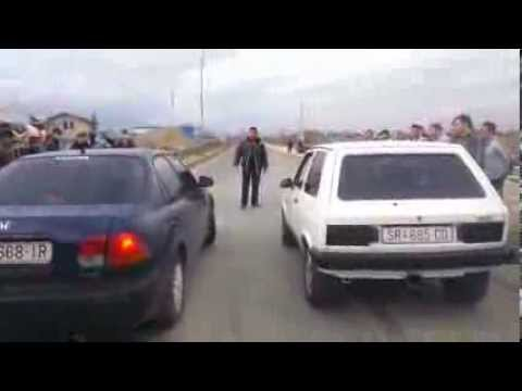 Strumica Drag Race 09.02.2014…Honda Civic vs Yugo Koral