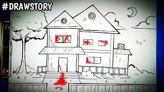 Download Video Asal Usul Rumah Terkutuk Hantu ( KAYAKO ) || DRAWSTORY MP3 3GP MP4