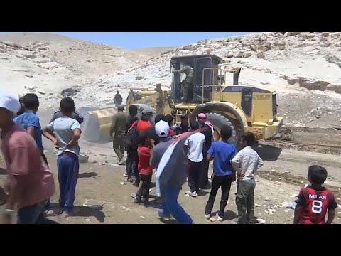 Westjordanland: Proteste gegen Räumung arabischer Sie ...