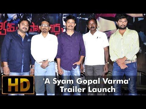 A Syam Gopal Varma Trailer Launch