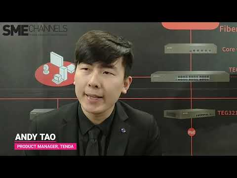 Interview with Andy Tao, Product Manager, Tenda at IFSEC