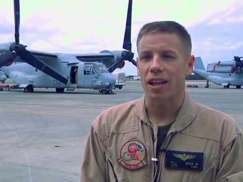 Osprey Landing.  Video by Gunnery...